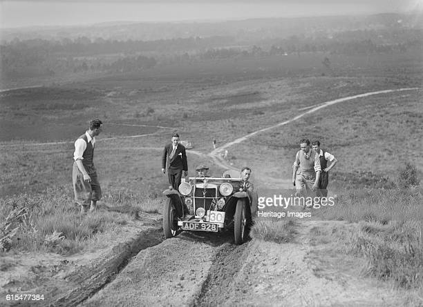 PA taking part in the NWLMC Lawrence Cup Trial 1937 MG PA 2 seater sports 1935 847 cc Vehicle Reg No ADF928 Event Entry No 30 Chassis No PA2213 Place...