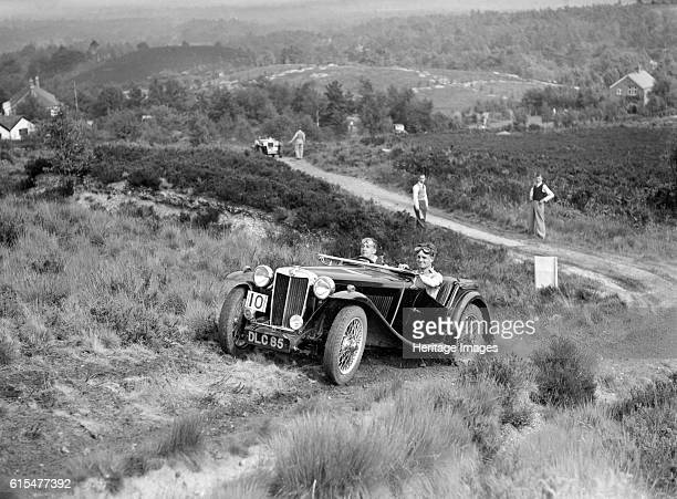 TA taking part in the NWLMC Lawrence Cup Trial 1937 MG TA 1936 1292 cc Vehicle Reg No DLC85 Event Entry No 10 Place NWLMC Lawrence Cup Trial Date...