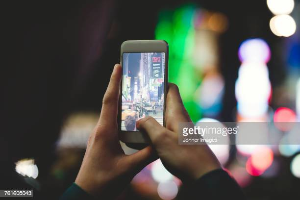 taking photo with smart phone - focus on foreground stock pictures, royalty-free photos & images