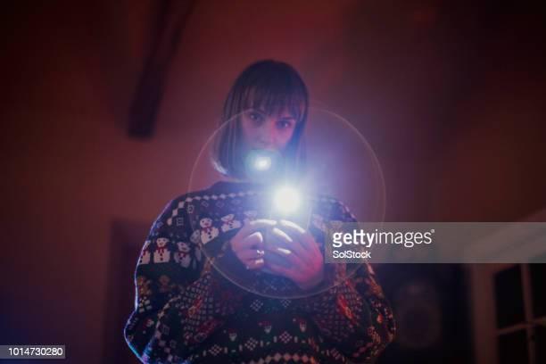 tirando fotos no natal - photo messaging - fotografias e filmes do acervo