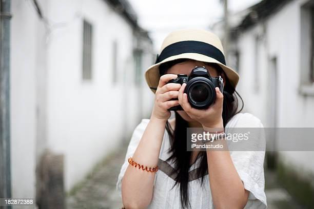 Tomar fotos con una DSLR