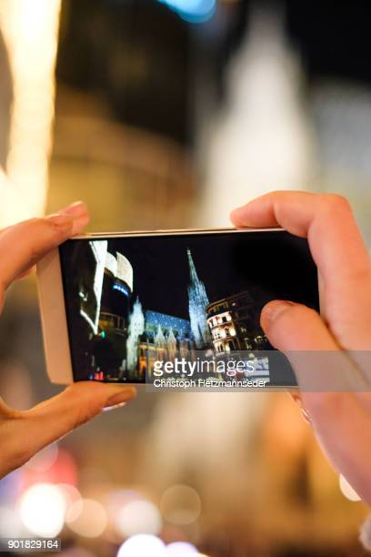 Taking photos with smartphone