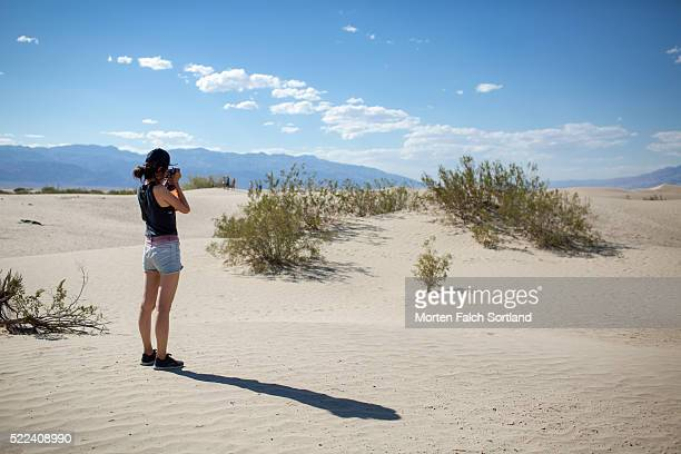 Taking pictures of the Sand Dune
