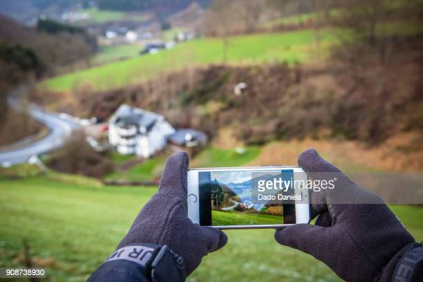 Taking pictures with camera