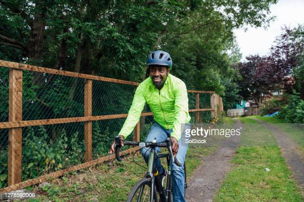 taking the bike to work - cycling stock pictures, royalty-free photos & images