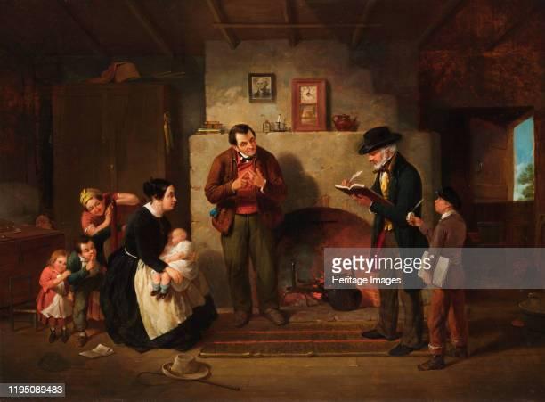 Taking the Census 1854 Artist Francis William Edmonds