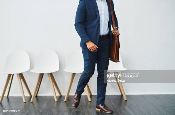 taking the first step to success - work shoe stock photos and pictures