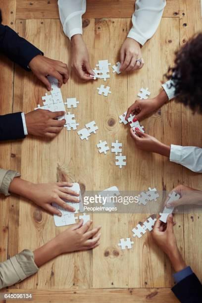 De aanpak van team nemen probleemoplossend