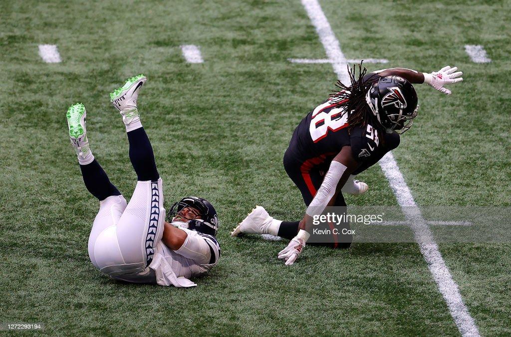 Seattle Seahawks v Atlanta Falcons : News Photo