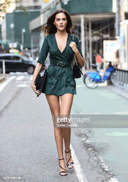 Tako Natsvlishvili attends the casting for the 2018 Victoria's Secret Fashion Show in Midtown on August 29 2018 in New York City