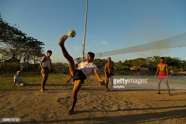 Worlds Best Sepak Takraw Stock Pictures Photos And Images