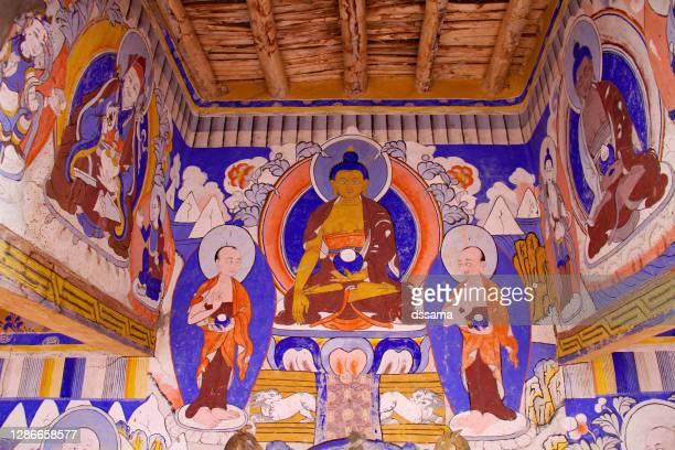 taktok gompa ladakh, india - religious service stock pictures, royalty-free photos & images