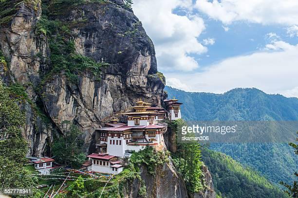 Taktsang Monastery at Paro, Bhutan