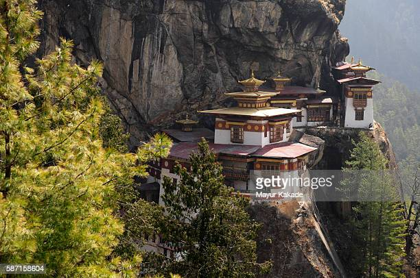 taktsang monastery, bhutan - paro stock pictures, royalty-free photos & images