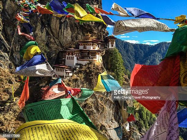 Taktsang Monastery or Tiger Nest