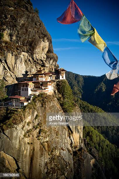 Taktsang Palphug Monastery also known as The Tiger's Nest locates in the cliffside of the Paro Valley Bhutan at precisely 3120 meters above the sea...