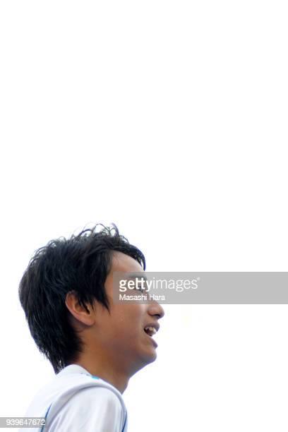 Takuhiro Nakai of Real Madrid Cadete B looks on after the U-15 Kirin Lemon Cup Final match between Real Madrid Cadete B and Shonan Bellmare U-15 on...