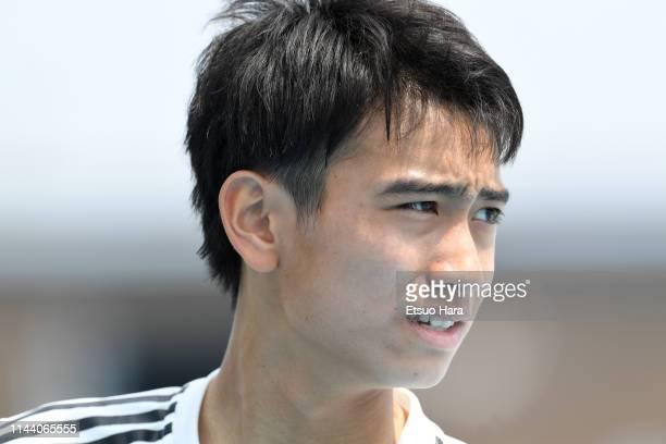 Takuhiro Nakai of Real Madrid looks on after the U16 Kirin Lemon Cup semi final between Real Madrid and JEF United Chiba at Yanagishima Sports Park...
