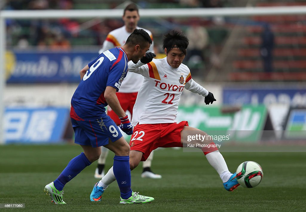 Ventforet Kofu v Nagoya Grampus - J.League 2015 : News Photo