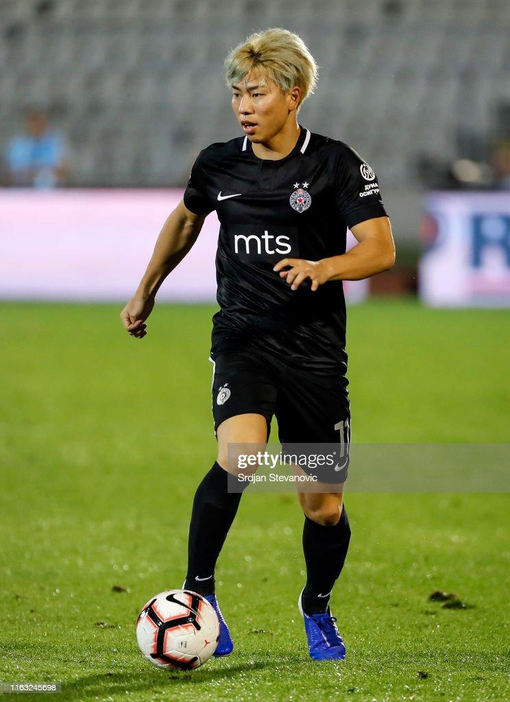 Partizan Belgrade v Molde - UEFA Europa League Play Off: First Leg : ニュース写真