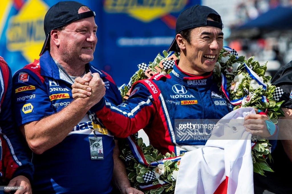 AUTO: MAY 28 IndyCar - Indianapolis 500 : ニュース写真