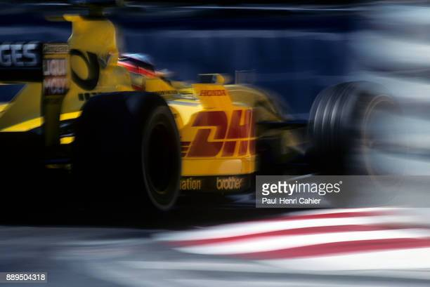 Takuma Sato JordanHonda EJ12 Grand Prix of Monaco Circuit de Monaco 26 May 2002