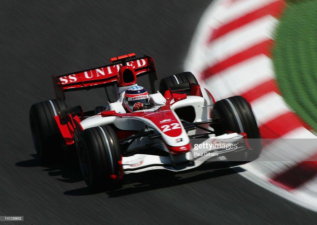 Spanish Formula One Grand Prix: Practice : News Photo