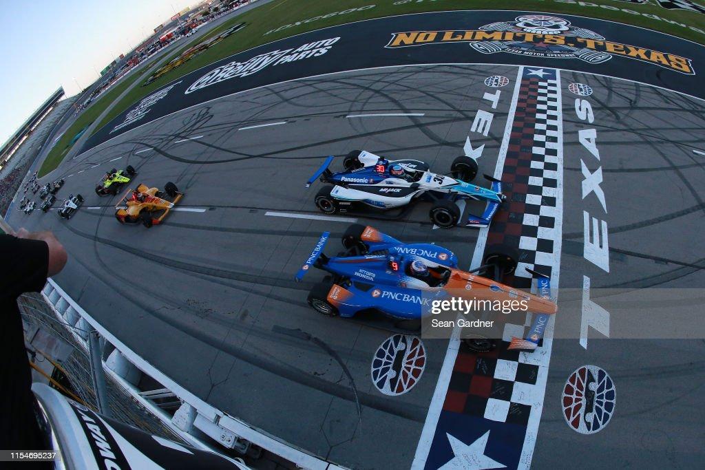 NTT IndyCar Series DXC Technology 600 : News Photo