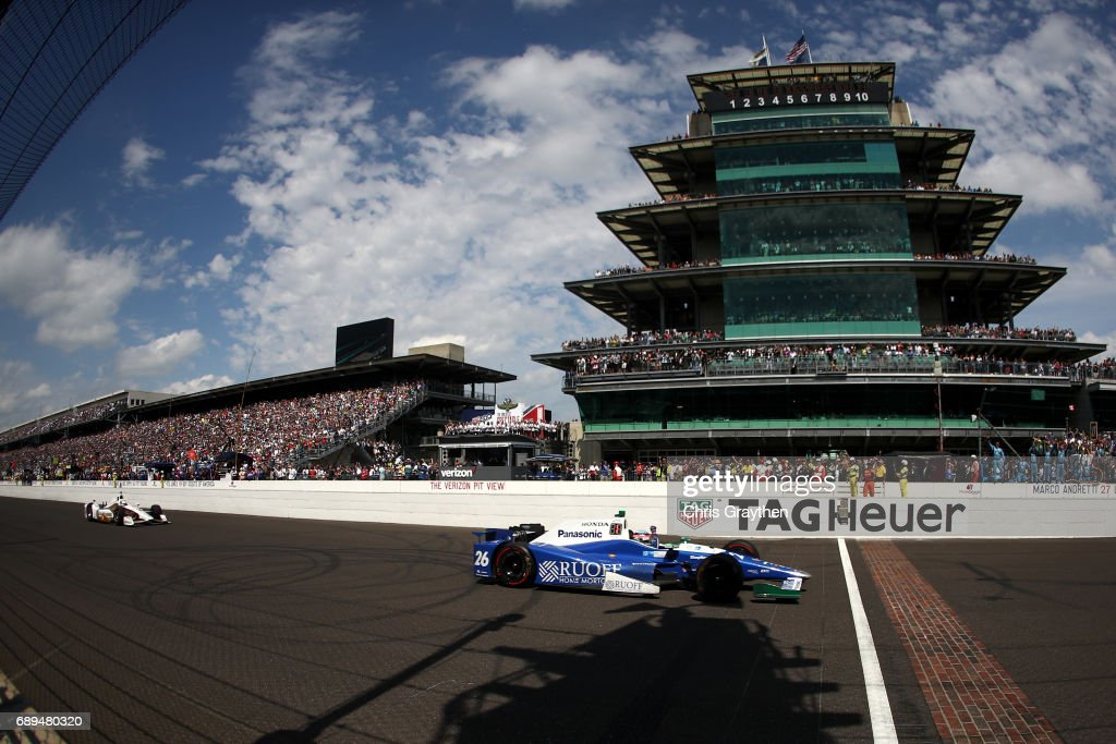 101st Indianapolis 500 : News Photo