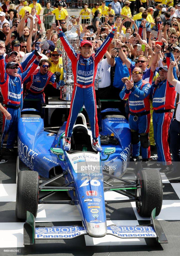 101st Indianapolis 500 : News Photo