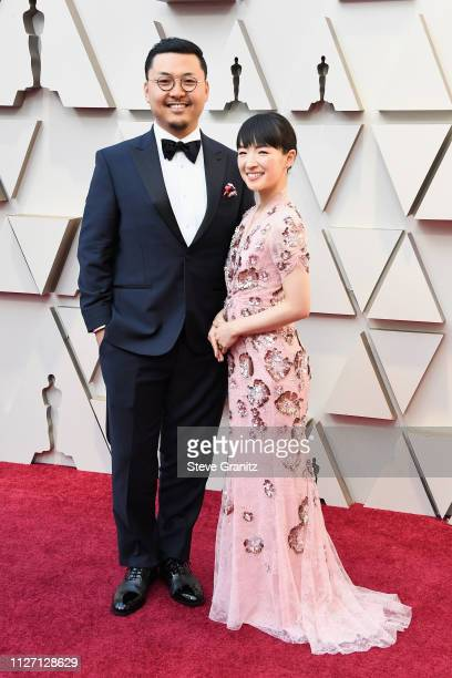 Takumi Kawahara and Marie Kondo attend the 91st Annual Academy Awards at Hollywood and Highland on February 24 2019 in Hollywood California