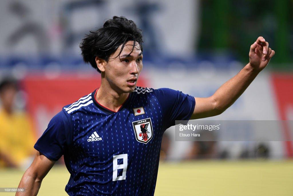 画像 : サッカー日本代表・攻撃...