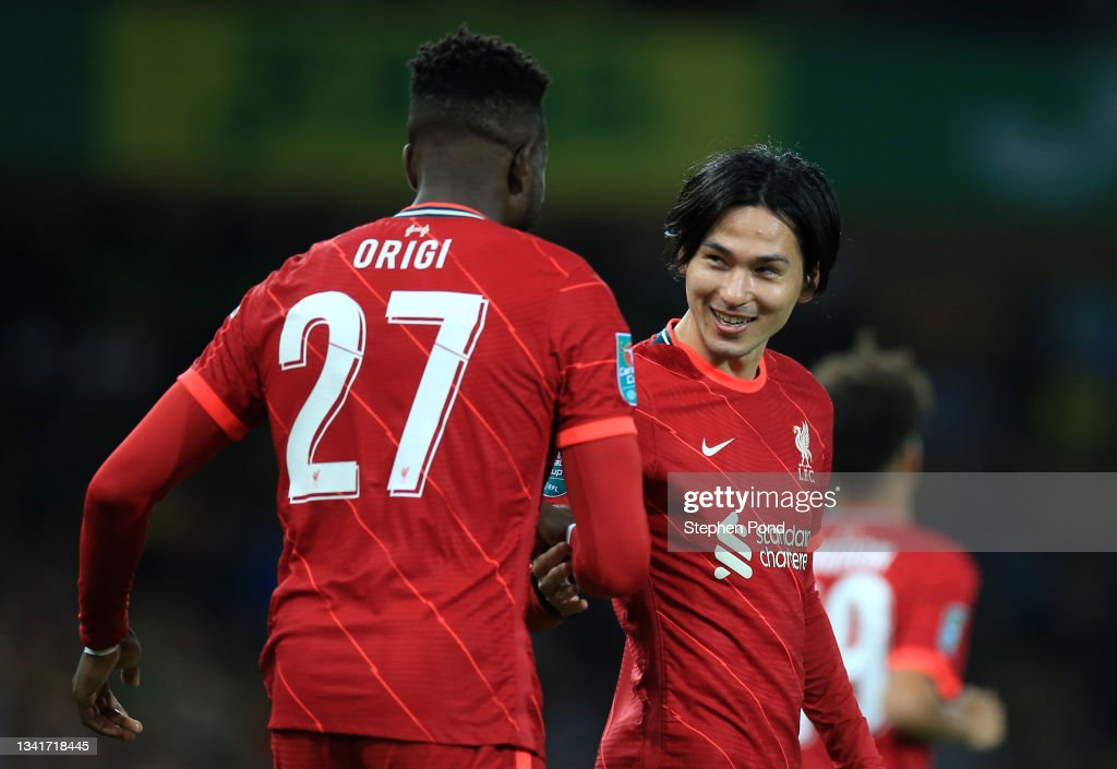 Norwich City v Liverpool - Carabao Cup Third Round : News Photo