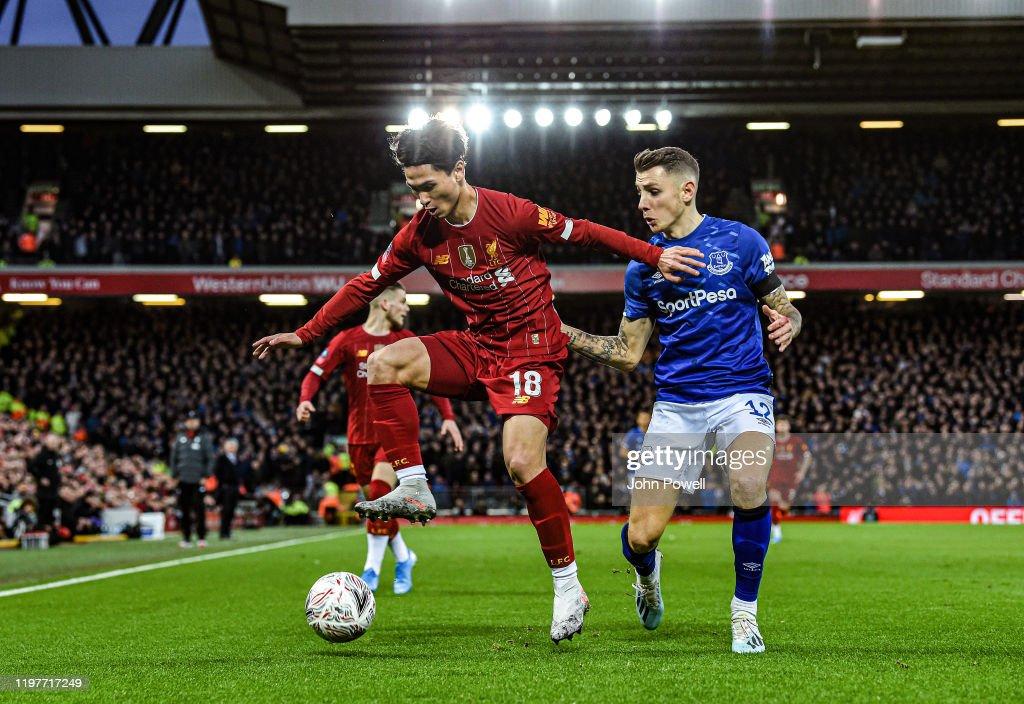 Liverpool FC v Everton FC - FA Cup Third Round : News Photo