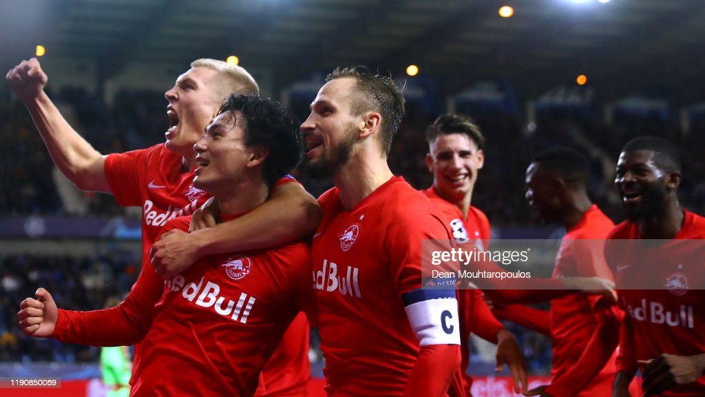 KRC Genk v RB Salzburg: Group E - UEFA Champions League : ニュース写真