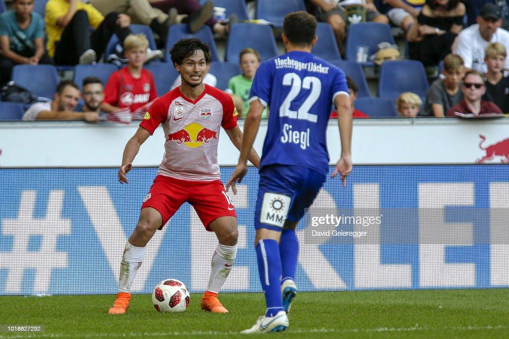 RB Salzburg v TSV Hartberg - tipico Bundesliga : ニュース写真