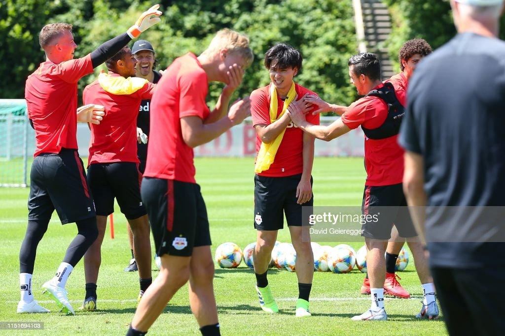 RB Salzburg Training Session : News Photo