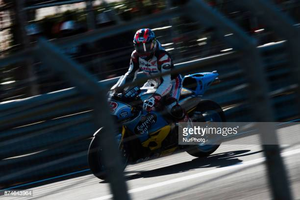 Takumi Takahasgi Eg 00 Marc Vds Honda during the tests of the new season MotoGP 2018 Circuit of Ricardo TormoValencia Spain Wednesday 15th of...