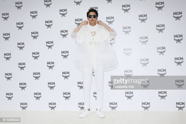 Takuro Ohno attends the MCM Fashion Show Spring/Summer 2019 during the 94th Pitti Immagine Uomo on June 13 2018 in Florence Italy