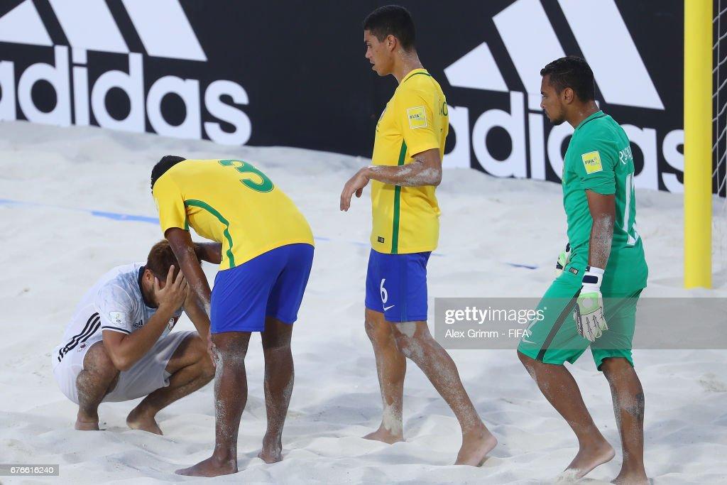 Brazil v Japan - FIFA Beach Soccer World Cup Bahamas 2017 : ニュース写真