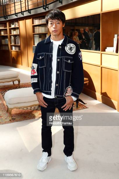Takuya Haneda attends the Chanel Haute Couture Fall/Winter 2019 2020 show as part of Paris Fashion Week on July 02 2019 in Paris France