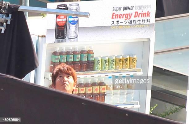 Takuya Kimura shooting for the progaganda film on 13th July 2015 in Hualian Taiwan China