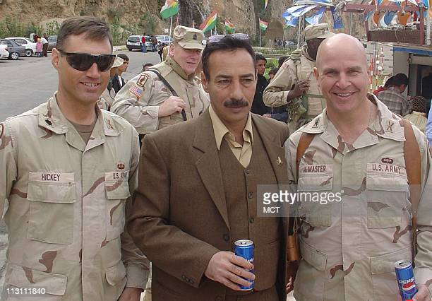 Tal Afar Mayor Najim Abadullah AlJibouri has worked so closely with Lt Col Christopher Hickey left and Col HR McMaster that he has written President...