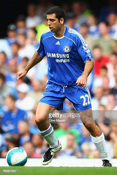 Tal Ben Haim of Chelsea in action during the Barclays Premier League match between Chelsea and Birmingham City at Stamford Bridge on August 12 2007...