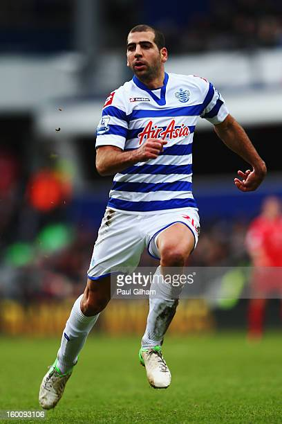Tal Ben Haim of Queens Park Rangers in action during the FA Cup with Budweiser Fourth Round match between Queens Park Rangers and Milton Keynes Dons...