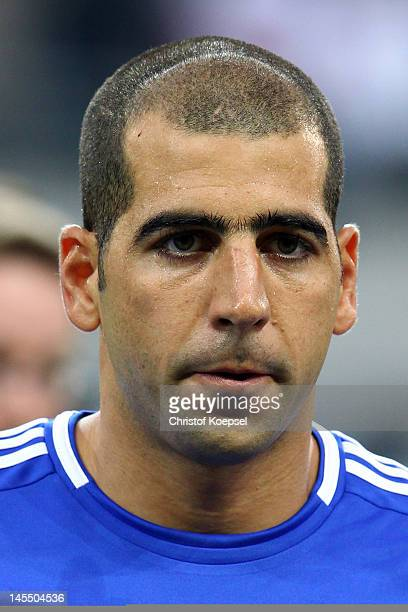 Tal BenHaim of Israel looks on prior to the International friendly match between Germany and Israel at Zentralstadion on May 31 2012 in Leipzig...