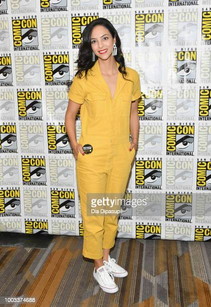 Tala Ashe attends the 'DC's Legends Of Tomorrow' Press Line during ComicCon International 2018 at Hilton Bayfront on July 21 2018 in San Diego...