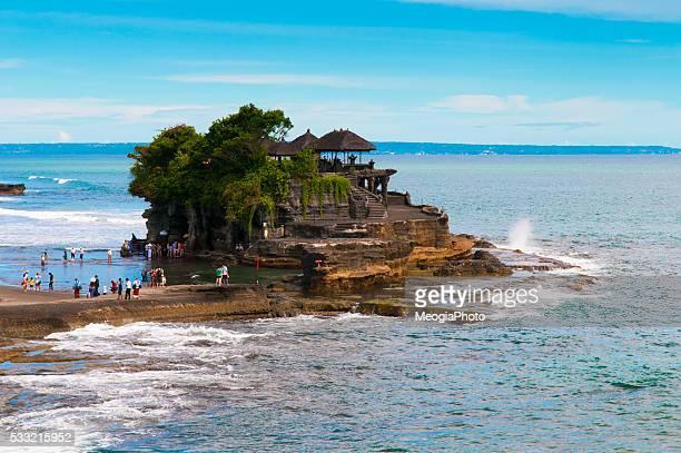 Talah Lot temple in Bali island, Indonesia