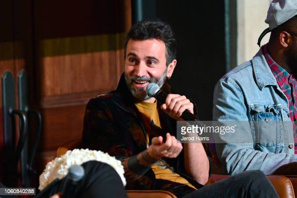 Talal Derki attends the Doc Roundtable during AFI FEST 2018 presented by Audi at Hollywood Roosevelt Hotel on November 12 2018 in Hollywood California