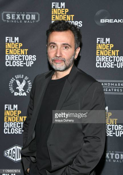 Talal Derki attends the Film Independent Directors CloseUp Another Type Of Narrative The Truth Of Docs at The Landmark on February 13 2019 in Los...